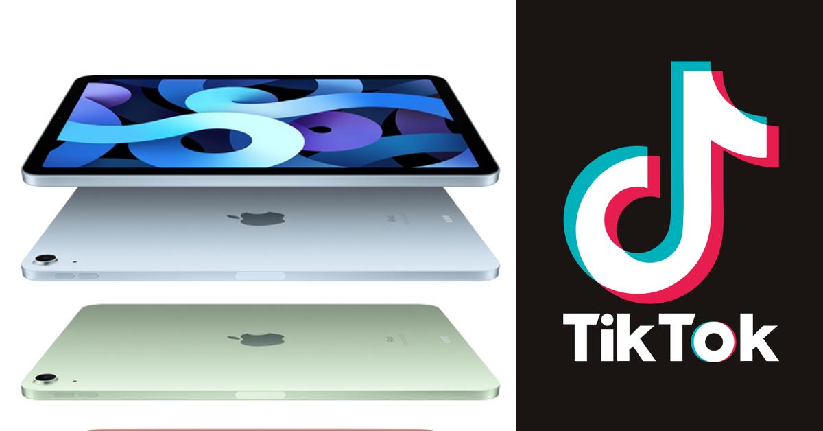 iPad TikTok
