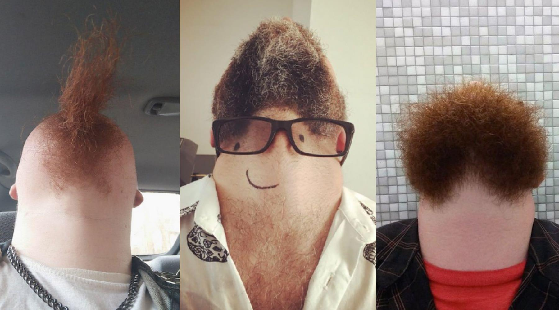 Photographing Men With Beards From Underneath Is The Latest Trend