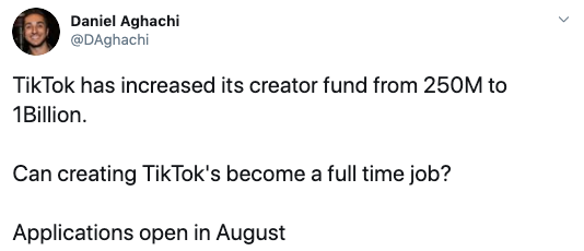 Here's How to Access the TikTok Creator Fund Application (if You Qualify)