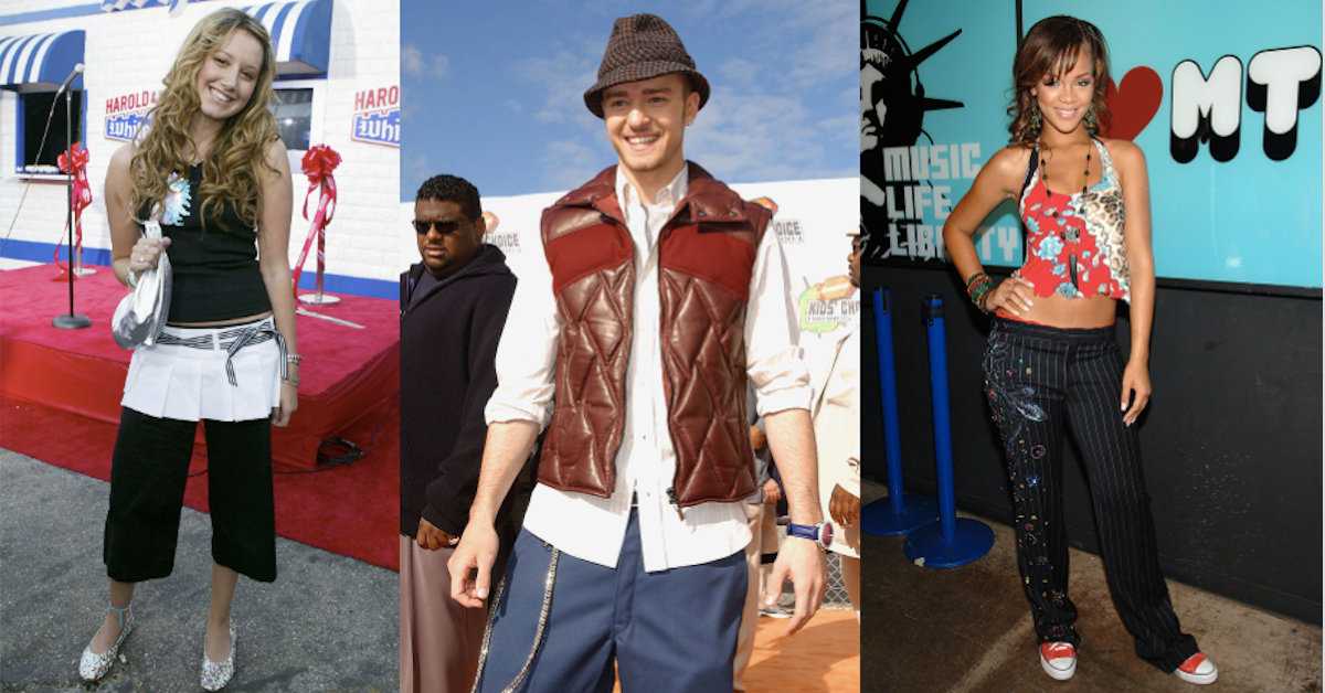 Ridiculous Fashion Trends from the Early 2000s That We ...
