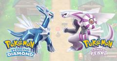 'Pokémon Brilliant Diamond and Shining Pearl'