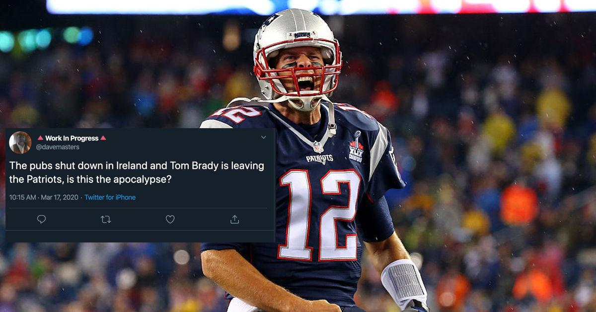 These Memes About Brady Leaving the Pats Are Truly Incredible