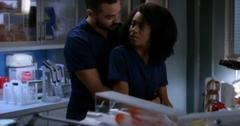Maggie Pierce and Jackson Avery