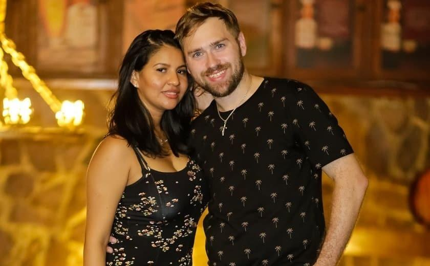 karine in the us  day fiance