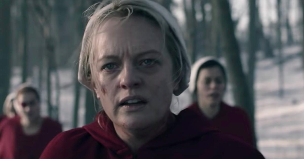 Elisabeth Moss in 'The Handmaid's Tale'