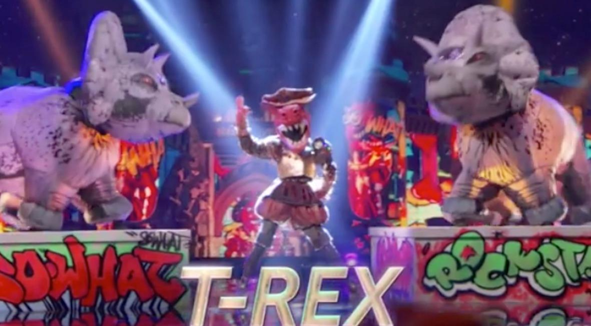 who is t rex masked singer