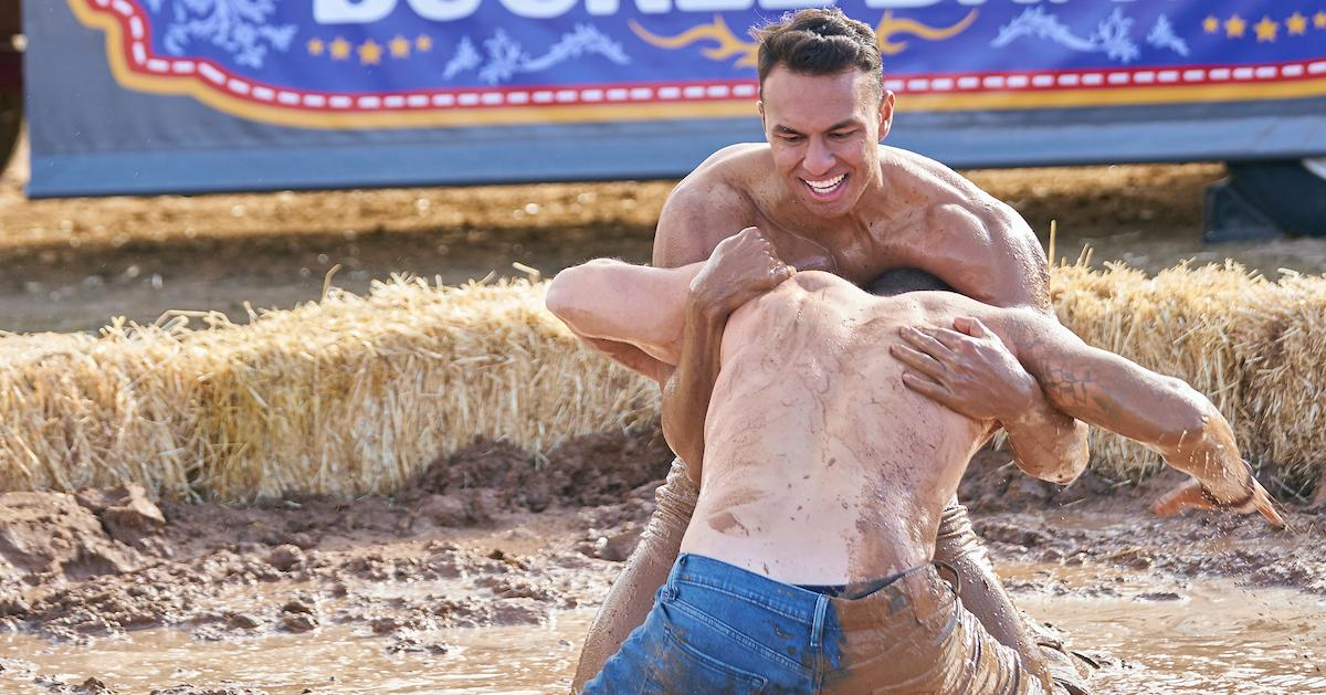 The Bachelorette's Cody and Aaron competing for Katie's love