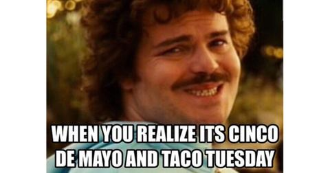 These Cinco De Mayo Taco Tuesday Memes Are Spicy Hot Hot Hot