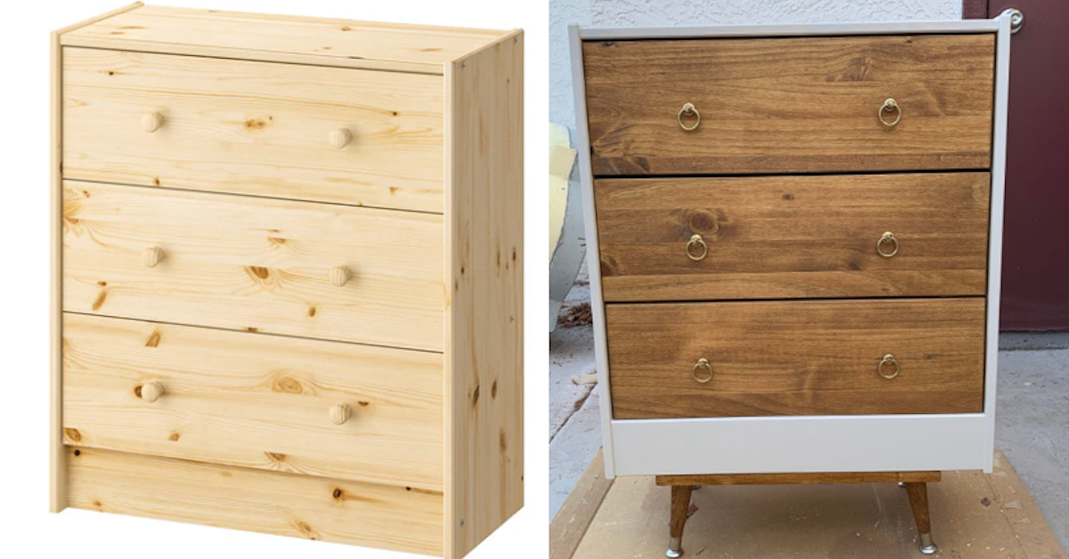 20 IKEA Items That People Totally Transformed