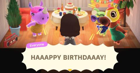 Animal Crossing Villagers Birthdays What You Need To Know