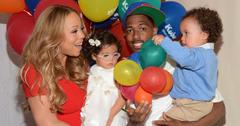 Mariah Carey and Nick Cannon with their twins