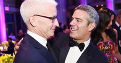 Anderson Cooper and Andy Cohen.