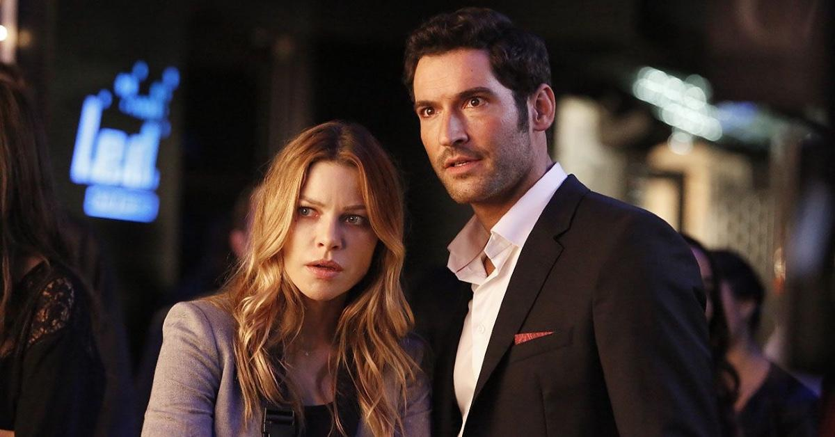 Lucifer (Tom Ellis) and Detective Chloe Decker (Lauren German) on 'Lucifer.'