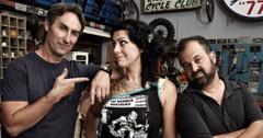 The 'American Pickers' cast photographed together.