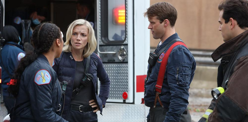 Brett and Casey Chicago Fire