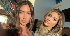 Stassie Karanikolaou and Kylie Jenner