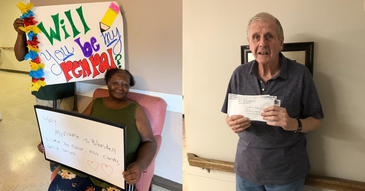 Senior Care Center's Request for Pen Pals Gets Overwhelmed With Responses