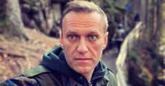 Alexei Navalny poses for a photo