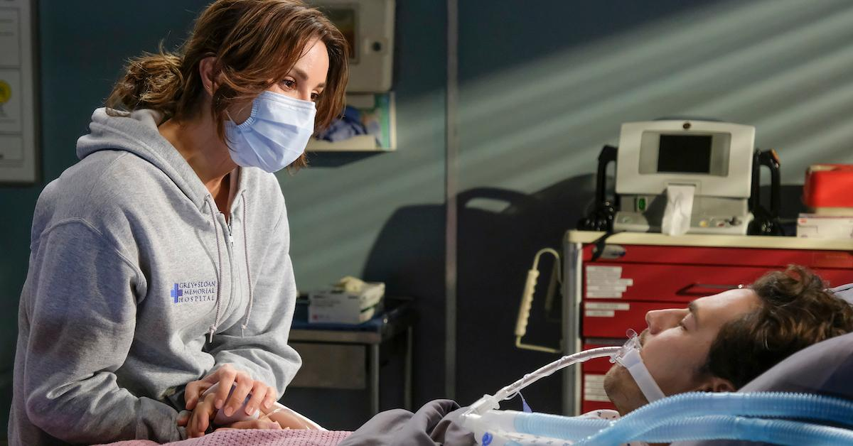 Andrew Deluca和Carina Deluca在'Gray's Anatomy'