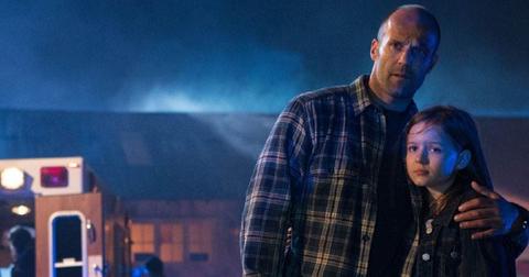 Jason Statham and Izabela Vidovic in 'Homefront'