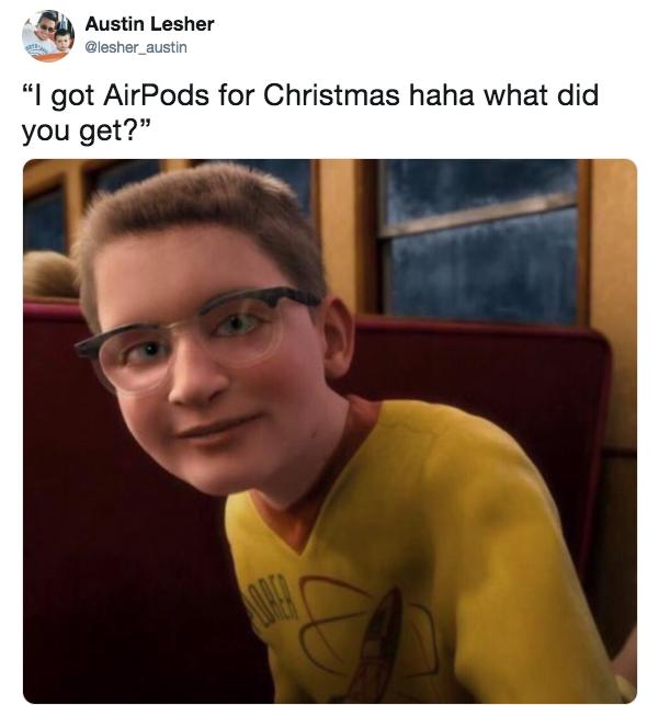 Christmas Memes For Kids.36 Airpods Memes To Show Your Friends Who Won T Shut Up