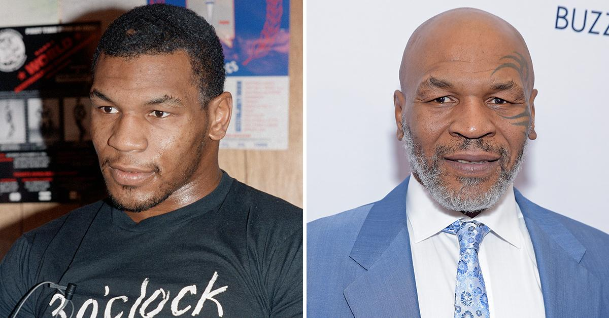 mike tyson then and now