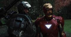 War Machine and Tony Stark
