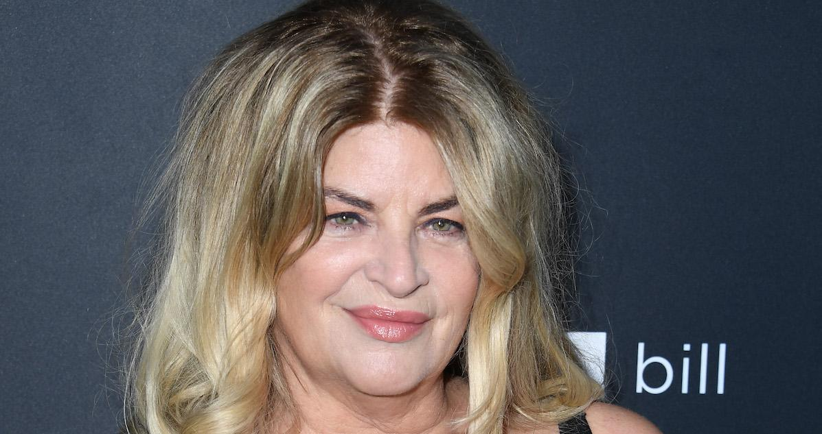 Kirstie Alley Is Unapologetically Vocal About Politics and Scientology