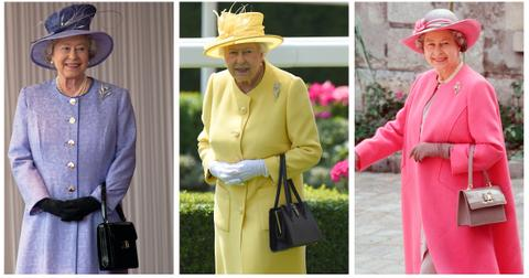 why does the queen always carry a purse
