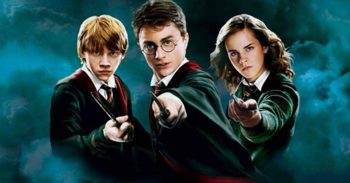 Ron, Harry, and Hermione