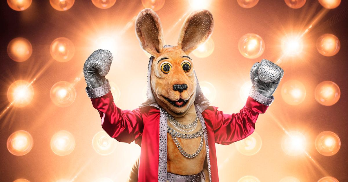 who is the kangaroo the masked singer