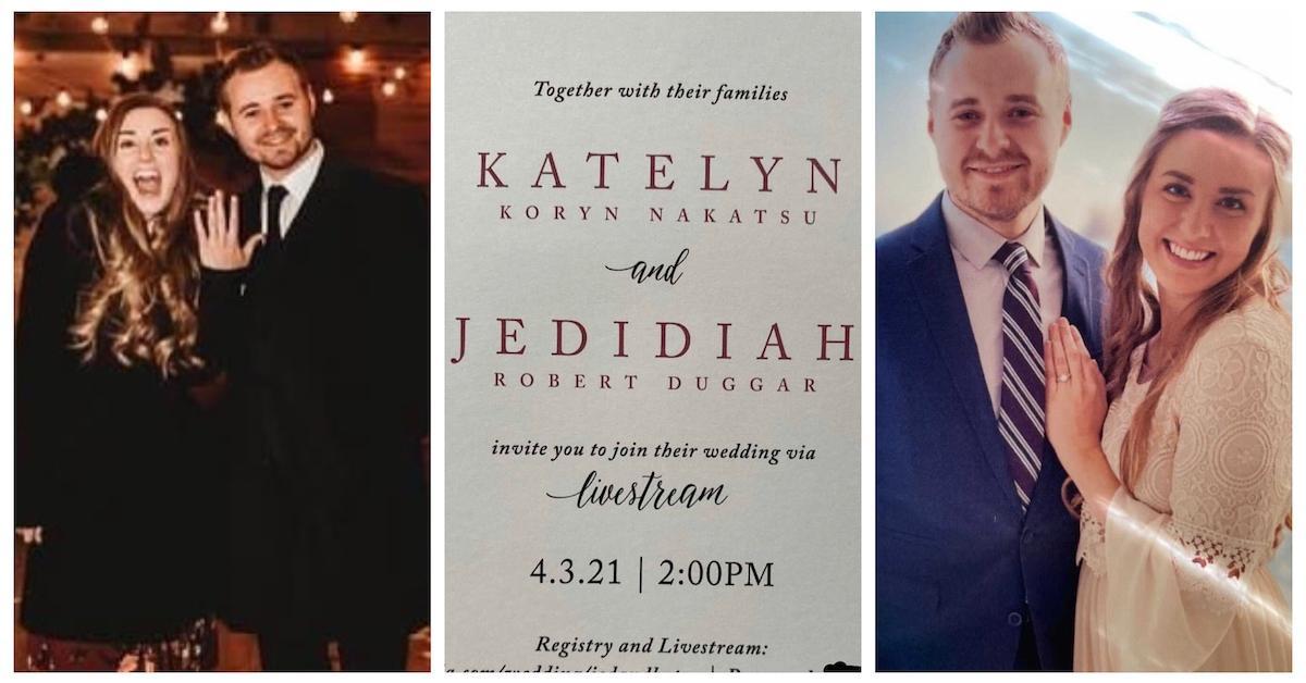 Jed Duggar与Katey Nakatsu订婚