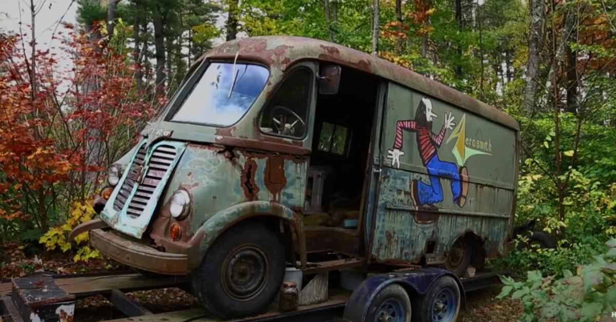 The Aerosmith van