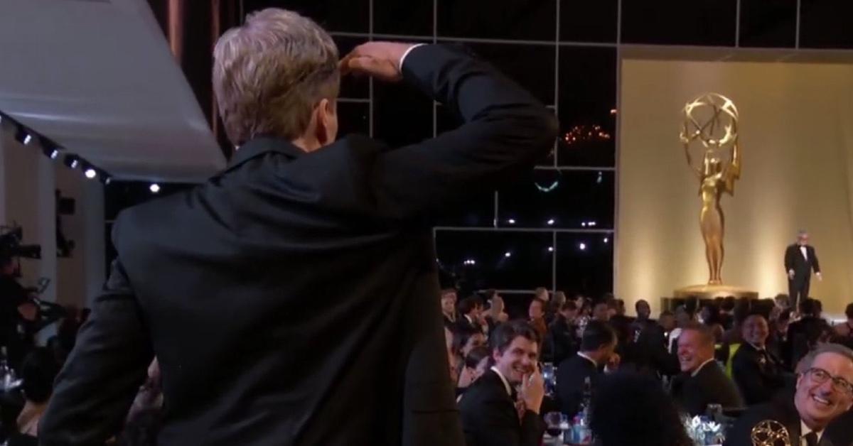 Conan O'Brien at the 73rd Emmy Awards.