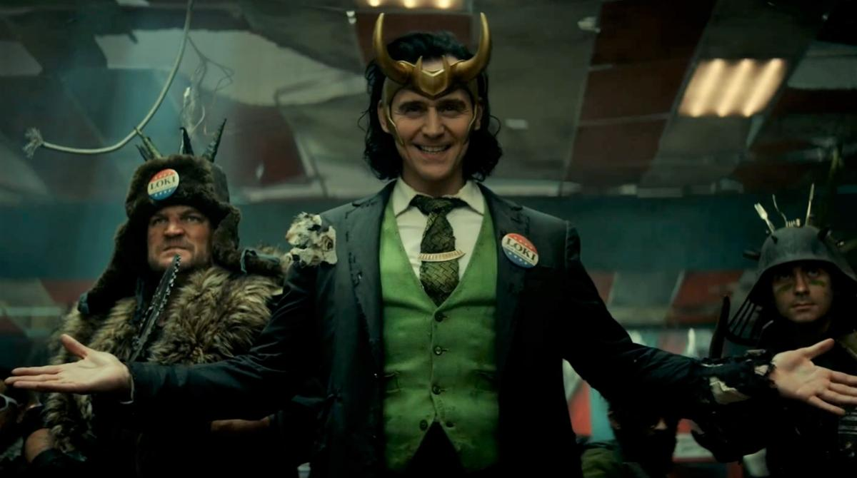Loki  about to get attacked.