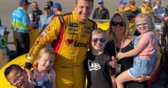 Michael McDowell and his family pose for a photo.