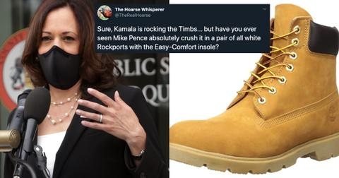 kamala harris footwear