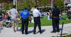 social distancing arrests