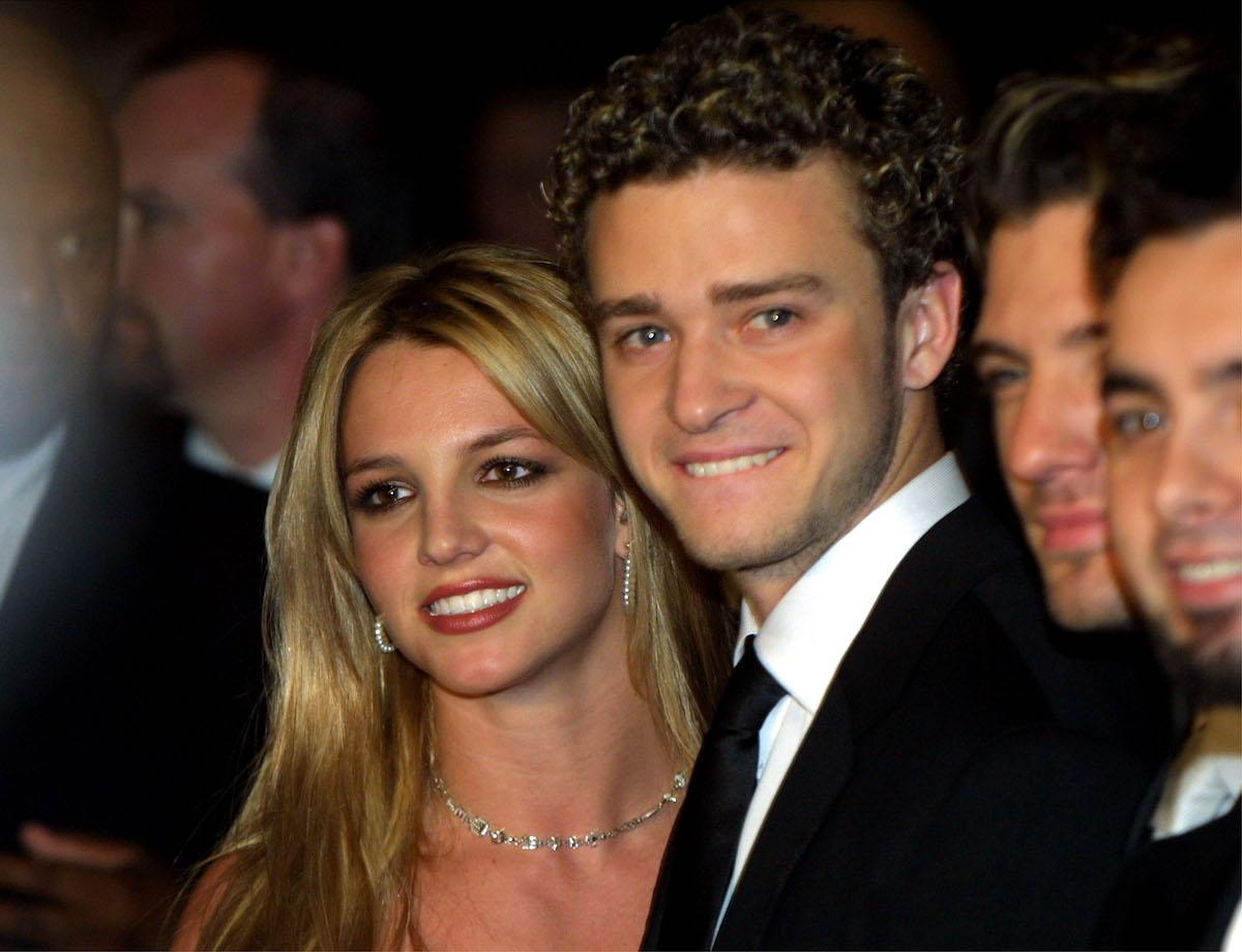 justin timberlake not over britney spears