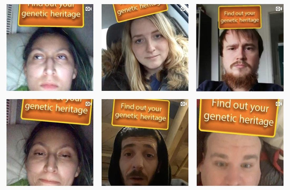 Find Out Your Genetic Heritage Filter
