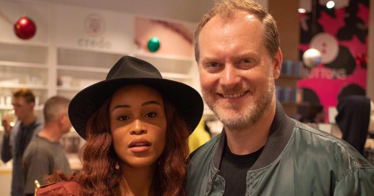 Eve and her hubby, Maximillion Cooper