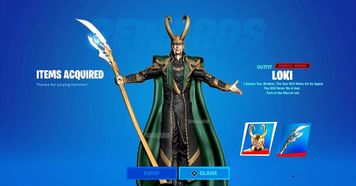 Here's How to Get the Loki Skin in 'Fortnite'