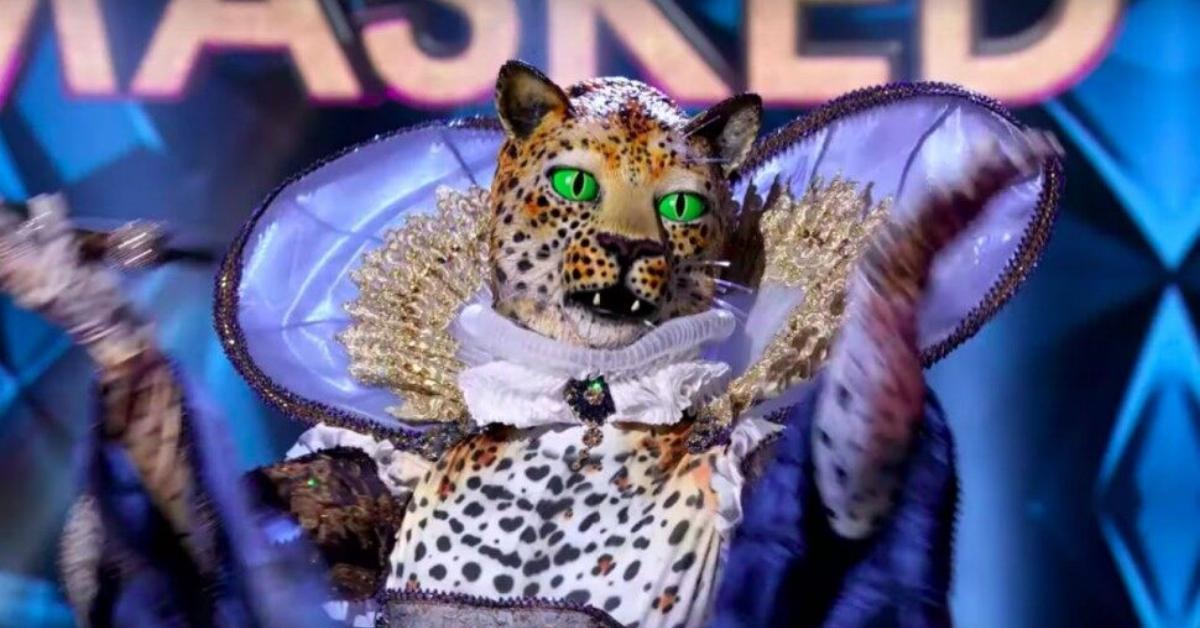 masked singer leopard