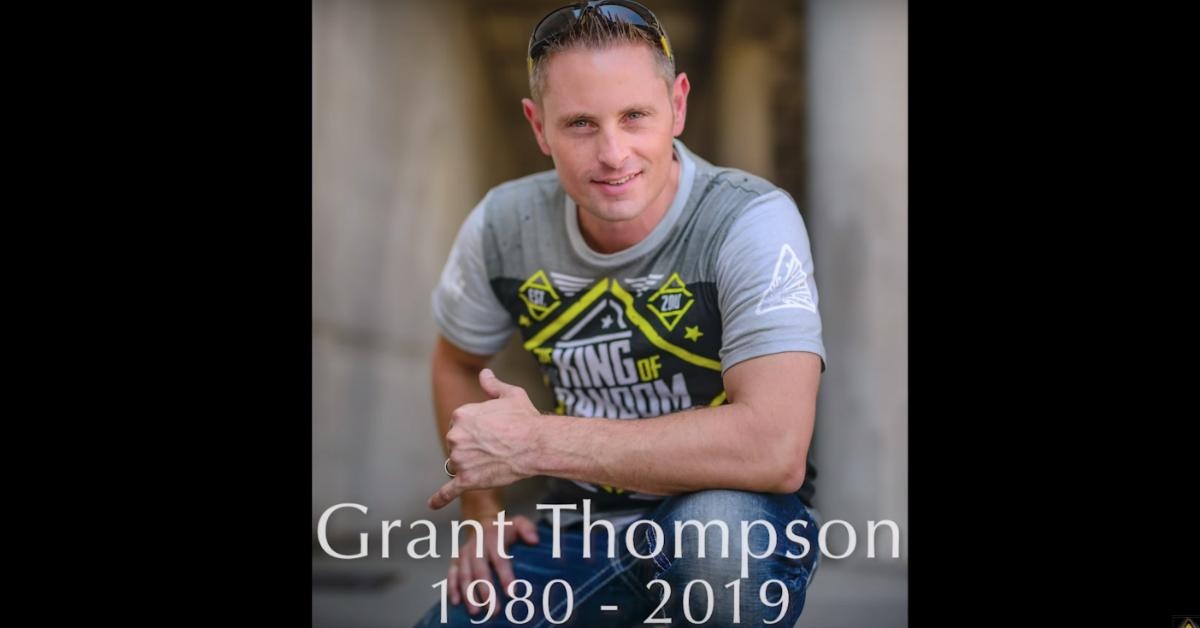 how did grant thompson die