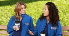 Meredith Grey and Sandra Oh