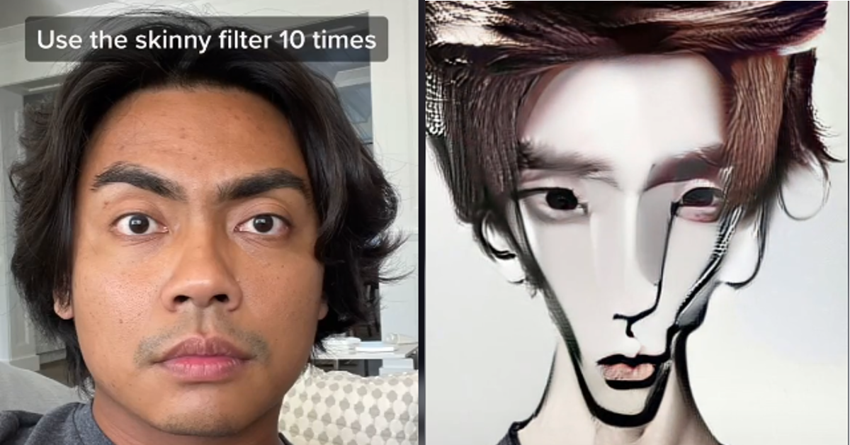 Skinny filter TikTok