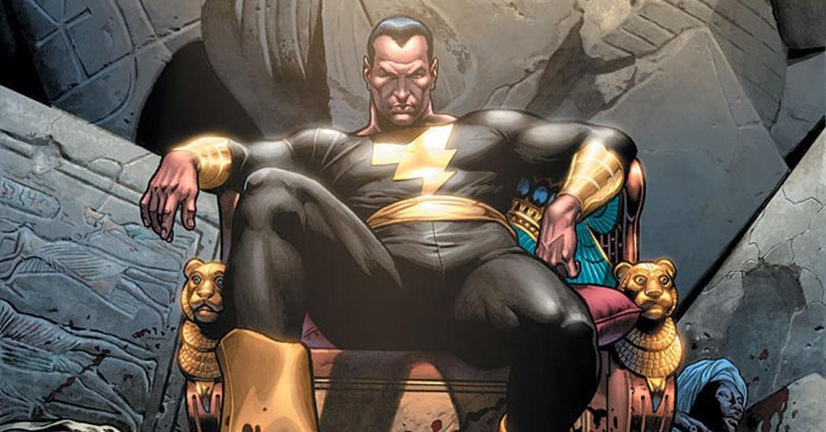 Black Adam on the cover of '52' #45 (March 2007)