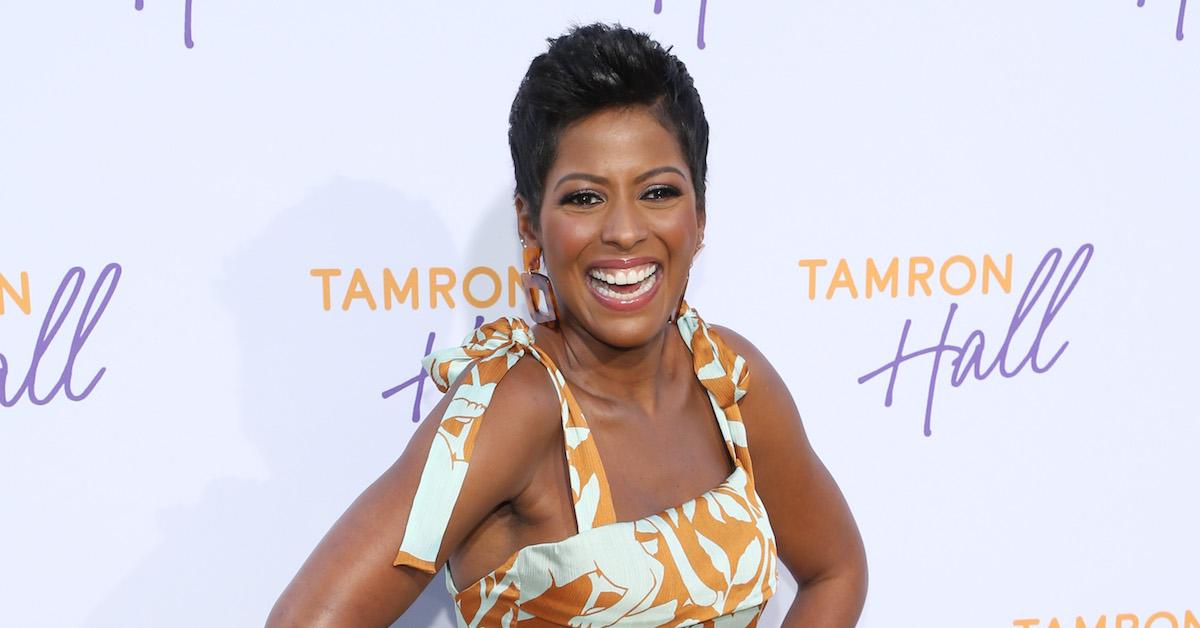 was tamron hall fired