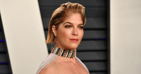 Selma Blair Proudly Shows Shaved Head In Hospital From MS Complications