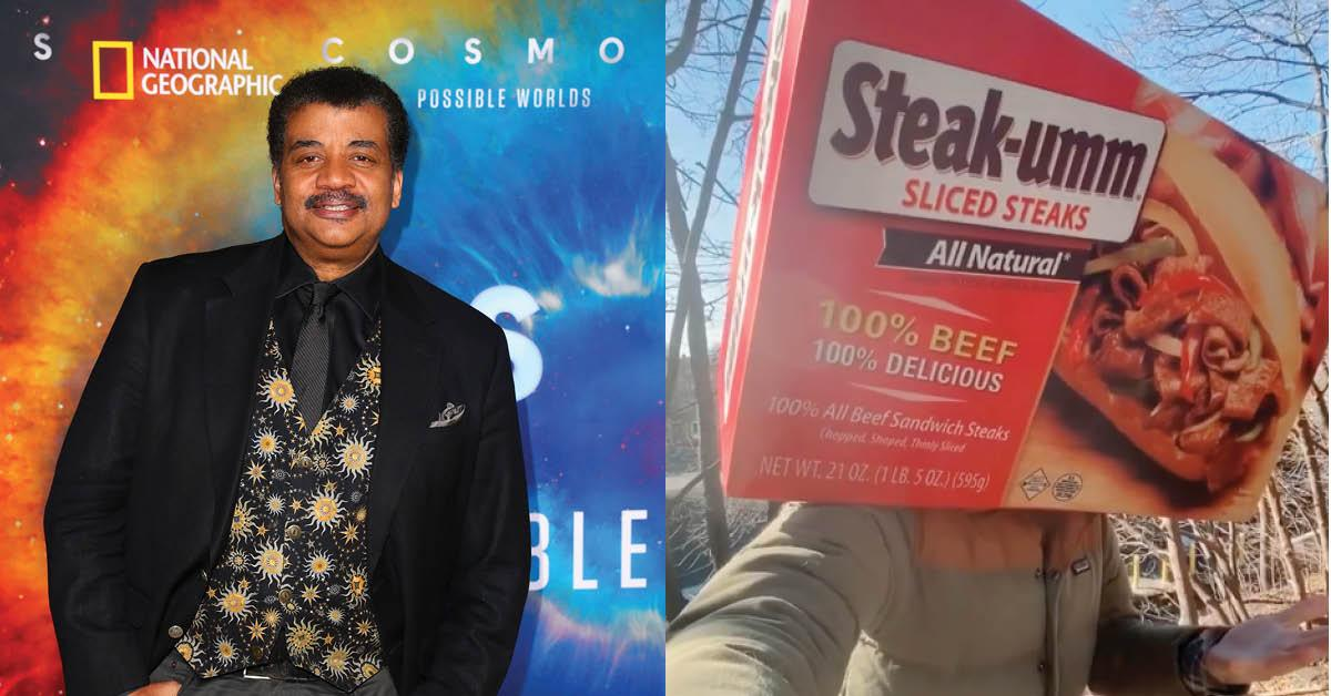 Neil deGrasse Tyson and Steak-umm